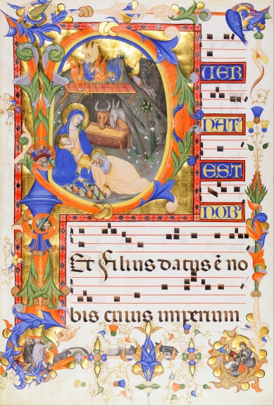 Don_Silvestro_dei_Gherarducci_-_Nativity,_in_an_initial_P_-_Google_Art_Project.jpg
