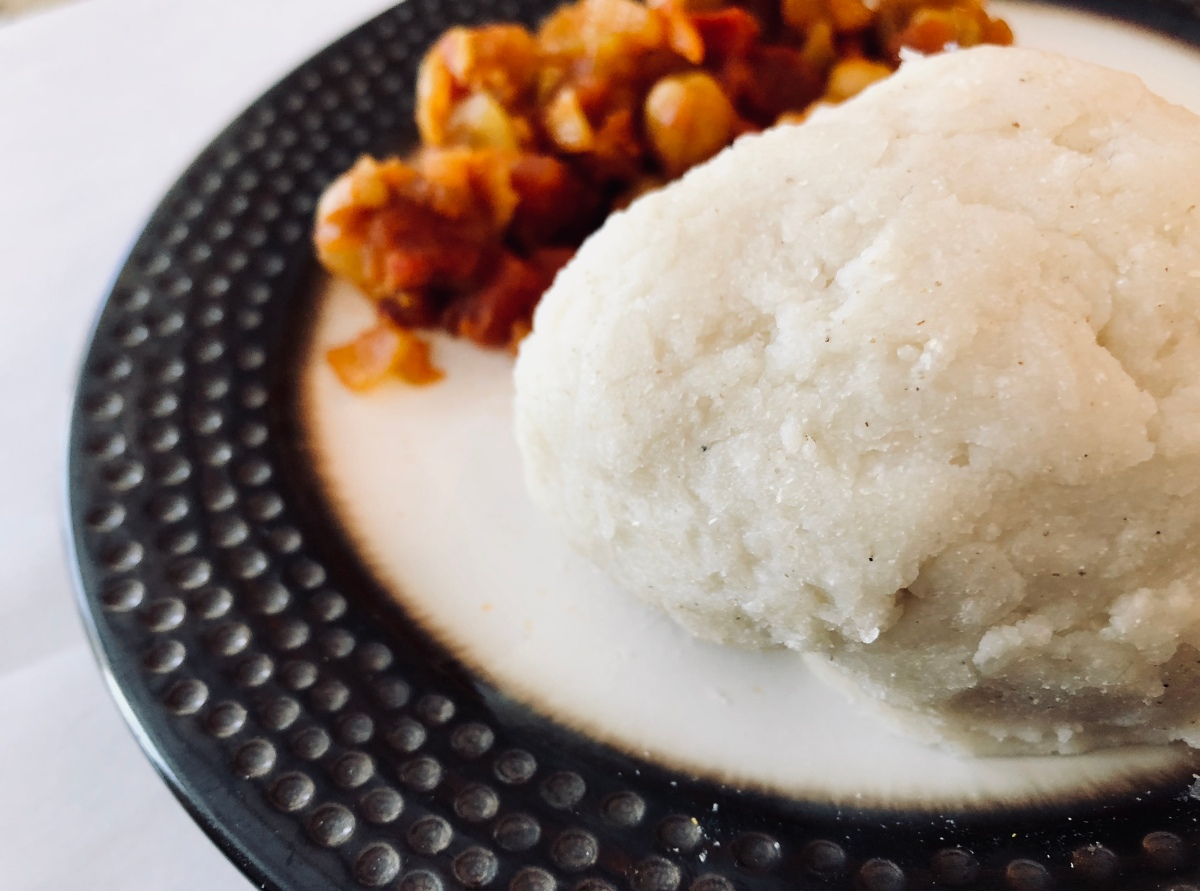 Ugali: Traditional Kenyan Cornmeal