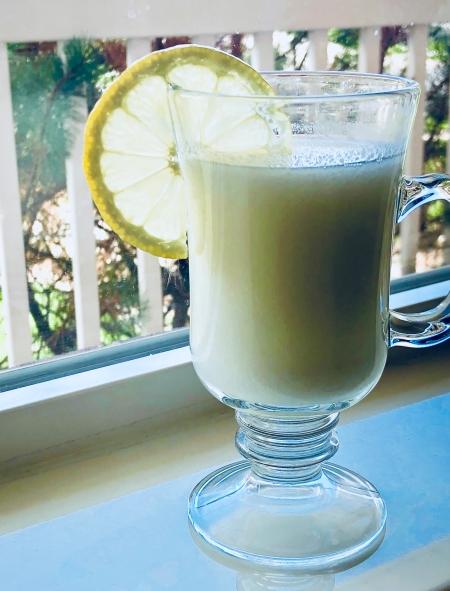 milk lemonade